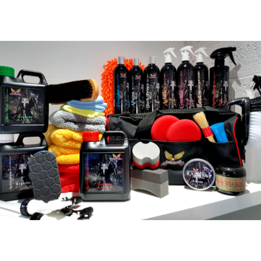 Car Wash Kit >> Ultimate Car Cleaning Kit