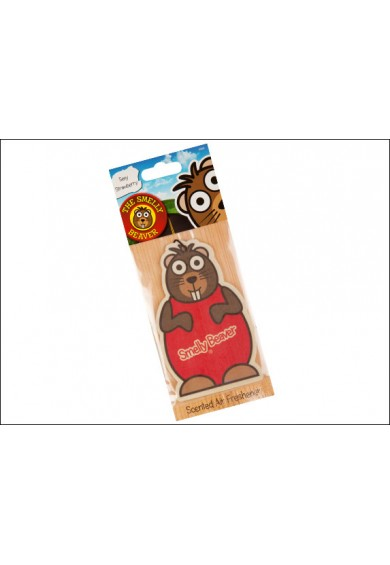 Smelly Beaver -  Sexy Strawberry Air Freshener